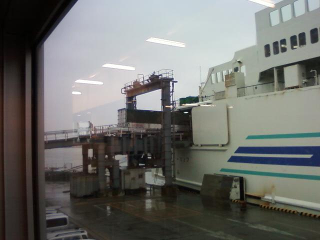 もうすぐ乗船